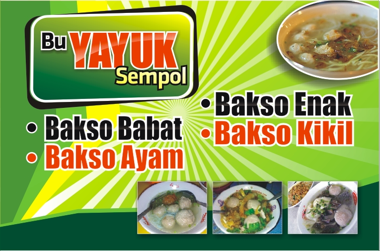 Image Result For Banner Bakso