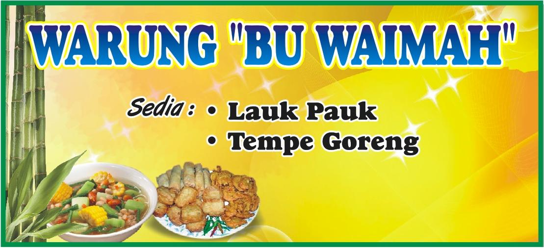 Desain Banner Warung Nasi Desaingrafisindo