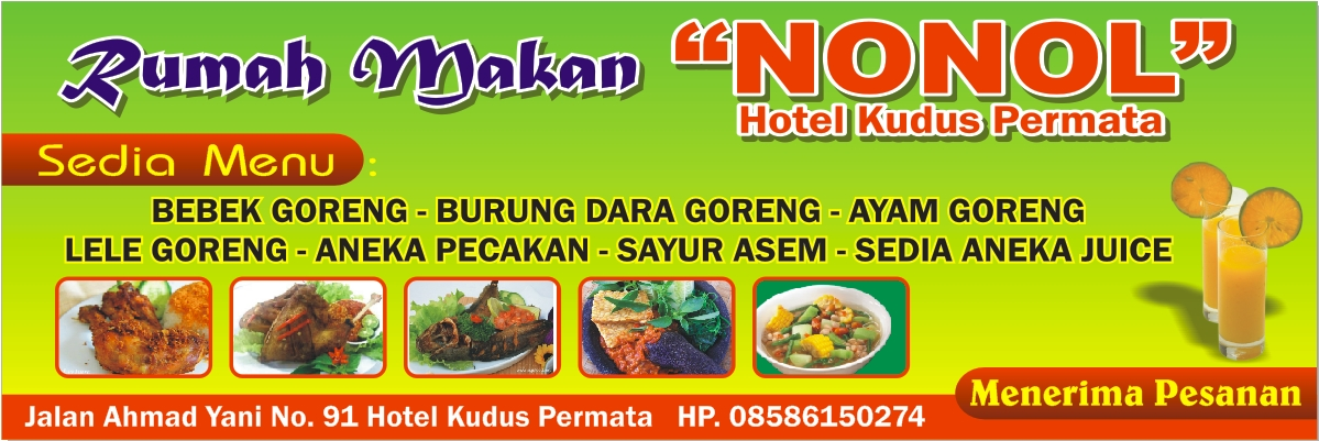 Contoh Banner Makanan Archives Template Desain Grafis Newhairstylesformen2014 Com